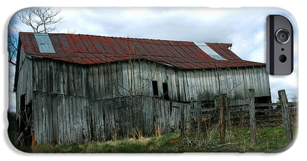 Best Sellers -  - Cabin Window iPhone Cases - Old barn XIII iPhone Case by Emanuel Tanjala