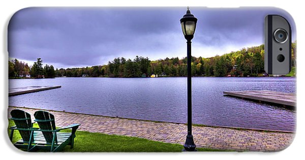 Old Forge Waterfront IPhone 6 Case by David Patterson