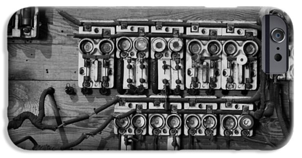 Safety Fuse iPhone 6 Case - Old Fuse Board by Robert Wilder Jr