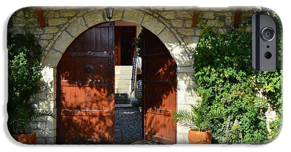 iPhone 6 Case - Old House Door by Nuri Osmani