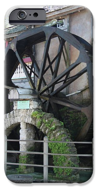 Business iPhone Cases - Old Water Wheel iPhone Case by Christiane Schulze Art And Photography
