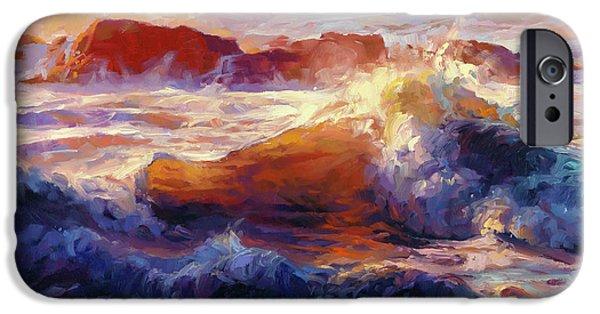 Pacific Ocean iPhone 6 Case - Opalescent Sea by Steve Henderson
