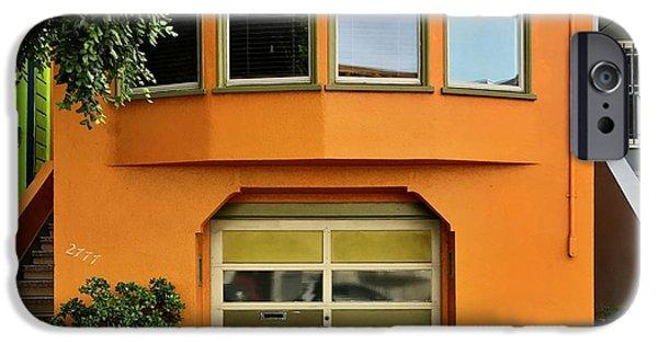 Orange House IPhone 6 Case