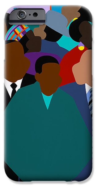 iPhone 6 Case - Origin Of The Dream by Synthia SAINT JAMES