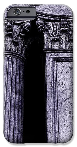 Ornate iPhone Cases - Ornate Pillars iPhone Case by Garry Gay