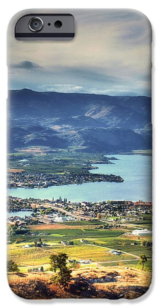 Tara Turner iPhone Cases - Osoyoos Lake 2 iPhone Case by Tara Turner