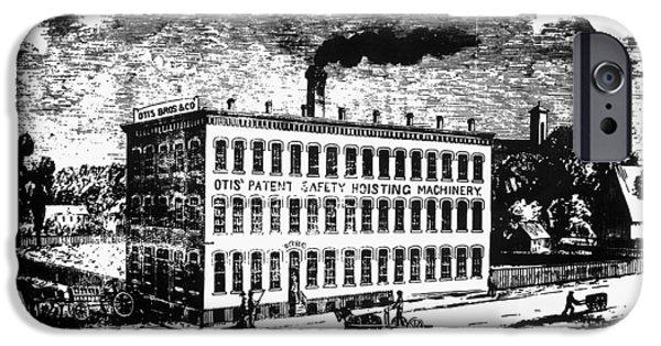 1870 iPhone Cases - Otis Elevator Factory iPhone Case by Granger