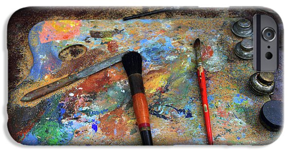 IPhone 6 Case featuring the photograph Painter's Palette by Jessica Jenney