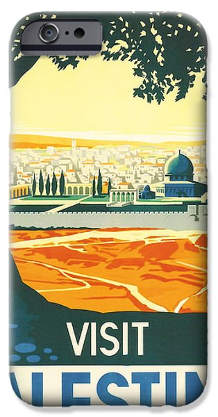Pilgrims iPhone Cases - Palestine iPhone Case by Nomad Art And  Design