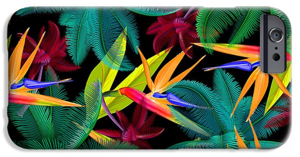 Dissing iPhone 6 Case - Palm Tree 4 by Mark Ashkenazi