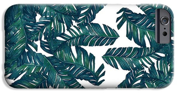 Dissing iPhone 6 Case - Palm Tree 7 by Mark Ashkenazi