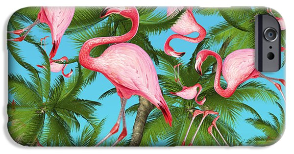 Dissing iPhone 6 Case - Palm Tree by Mark Ashkenazi