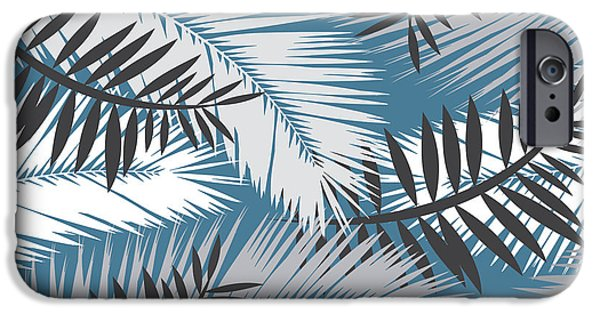 Dissing iPhone 6 Case - Palm Trees 10 by Mark Ashkenazi