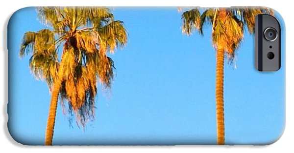 Summer iPhone 6 Case - #palm #trees At Sunset. #california by Shari Warren