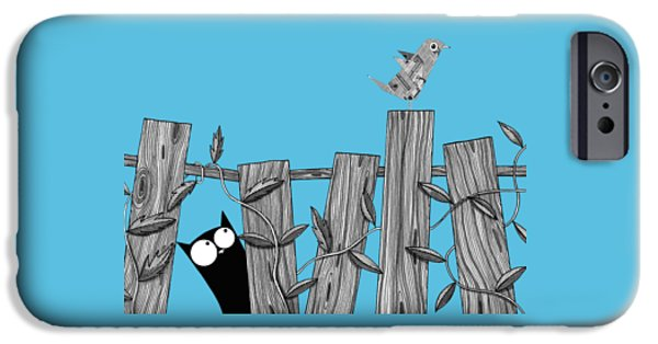 Paper Bird IPhone 6 Case
