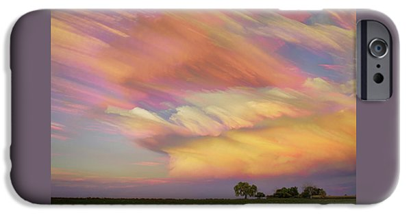 IPhone 6 Case featuring the photograph Pastel Painted Big Country Sky by James BO Insogna