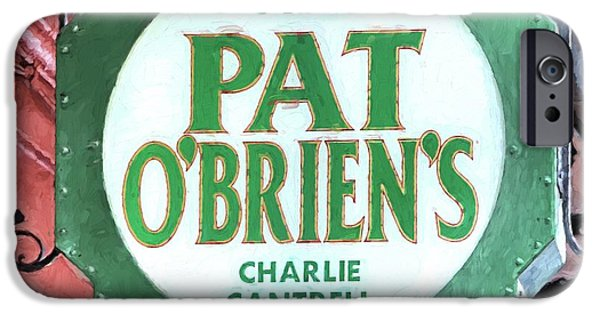 IPhone 6 Case featuring the photograph Pat Obriens by JC Findley