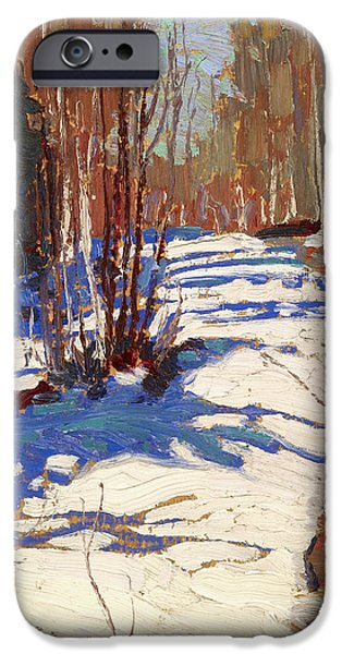 20th iPhone 6 Case - Path Behind Mowat Lodge by Tom Thomson