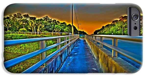 Pathway iPhone Cases - Path to Reality iPhone Case by Luis Lushman