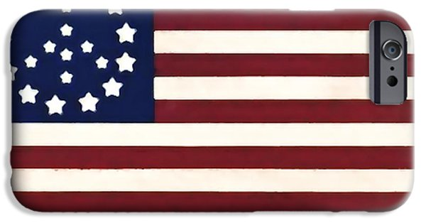 United States iPhone Cases - Peace Flag iPhone Case by Bill Cannon