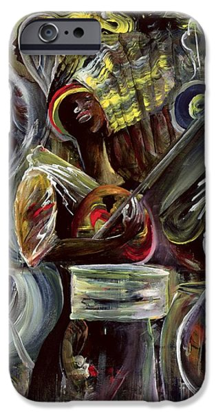 Jamaican Music iPhone Cases - Pearl Jam iPhone Case by Ikahl Beckford