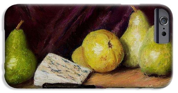 Jack Skinner iPhone Cases - Pears and Cheese iPhone Case by Jack Skinner