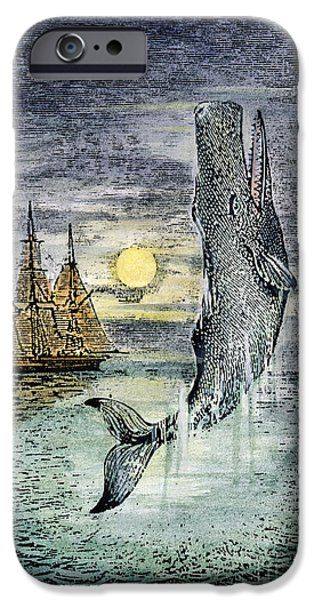 19th Century Photographs iPhone Cases - Pehe Nu-e: Moby Dick iPhone Case by Granger