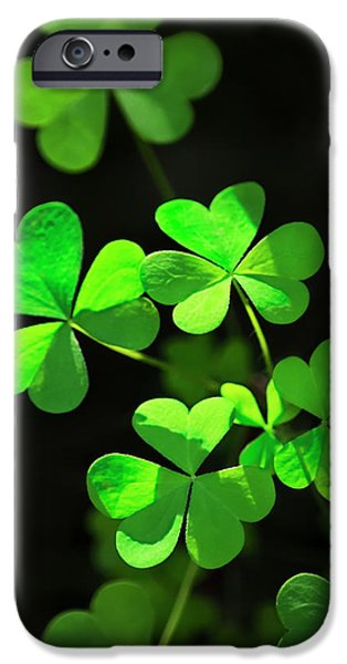 Perfect Green Shamrock Clovers IPhone 6 Case