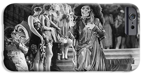 Interior Scene iPhone Cases - Phantom Of The Opera, 1925 iPhone Case by Granger