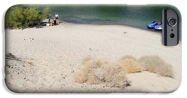 Jet Ski iPhone 6 Case - Picnic On Lake Mohave by Julie Niemela