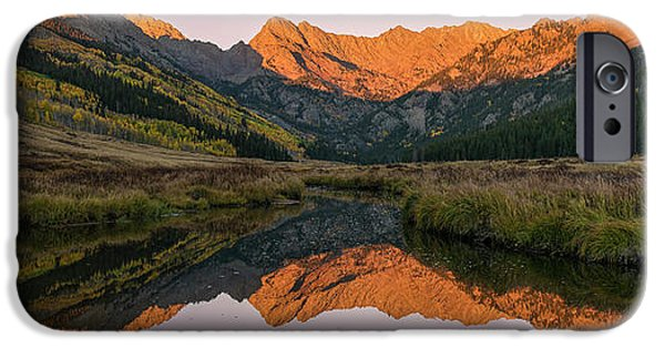 IPhone 6 Case featuring the photograph Piney River Panorama by Aaron Spong