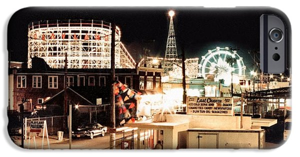 Amusements iPhone Cases - Playland iPhone Case by Bruce Lennon