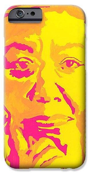 Poetically Speaking  IPhone 6 Case by Miriam Moran