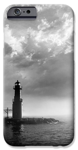 Lighthouse iPhone Cases - Point of Inspiration iPhone Case by Bill Pevlor