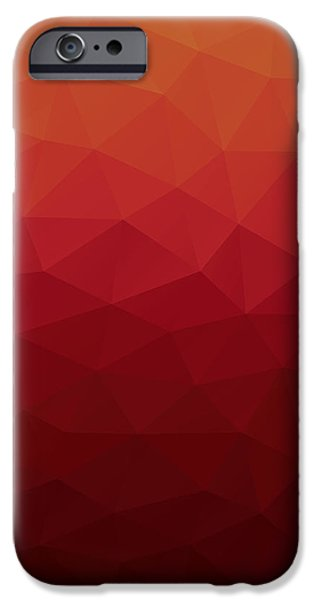 Artwork iPhone 6 Case - Polygon by Mike Taylor