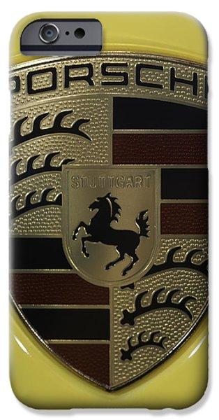 Porsche Emblem On Racing Yellow IPhone 6 Case