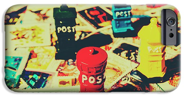 IPhone 6 Case featuring the photograph Postage Pop Art by Jorgo Photography - Wall Art Gallery
