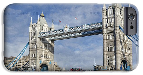 United iPhone Cases - Postcard Home iPhone Case by Joan Carroll