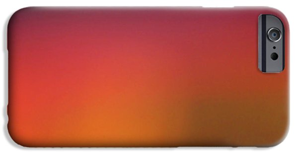 Cmlbrown iPhone Cases - Pretend Sunrise iPhone Case by CML Brown