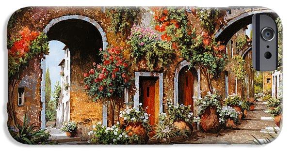 Village iPhone 6 Case - Profumi Di Paese by Guido Borelli
