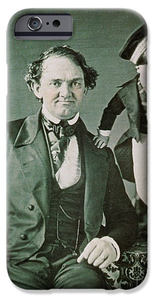 Personalities Photographs iPhone Cases - P.t. Barnum, American Showman iPhone Case by Photo Researchers