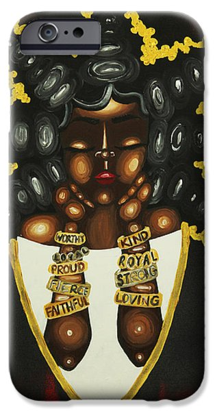 Nude Figurative iPhone 6 Case - Queenisms by Aliya Michelle