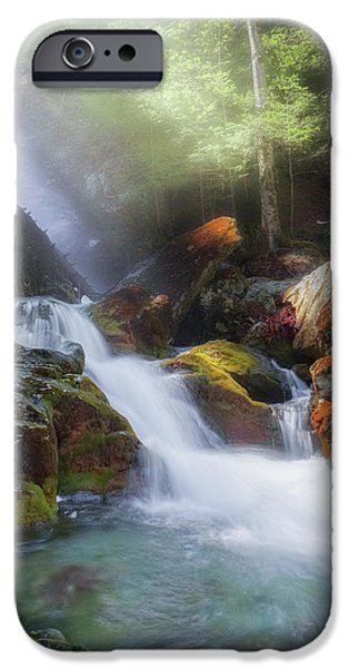 IPhone 6 Case featuring the photograph Race Brook Falls 2017 by Bill Wakeley