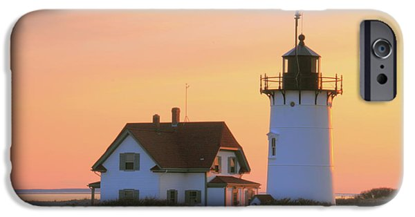 New England Lighthouse iPhone Cases - Race Point Light iPhone Case by Roupen  Baker