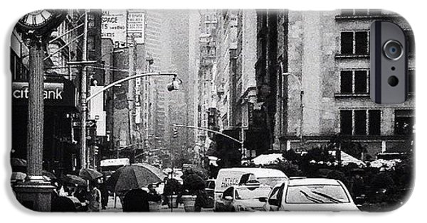 Rain - New York City IPhone 6 Case
