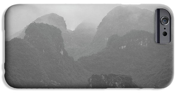 IPhone 6 Case featuring the photograph Rainy Ha Long Bay, Ha Long, 2014 by Hitendra SINKAR