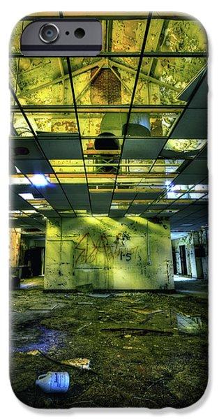 Asylum iPhone Cases - Raise the Roof iPhone Case by Evelina Kremsdorf