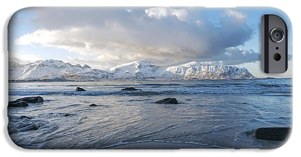 Ramberg Beach, Lofoten Nordland IPhone 6 Case by Dubi Roman