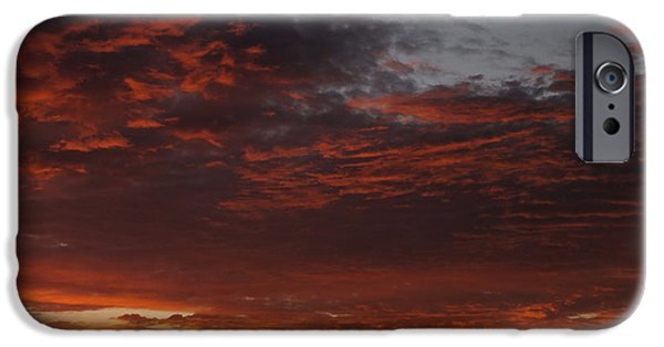 Skies iPhone Cases - Reach for the Sky 12 iPhone Case by Mike McGlothlen