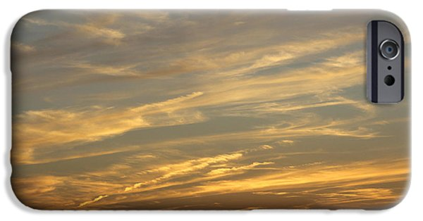 Colorful Cloud Formations iPhone Cases - Reach for the Sky 7 iPhone Case by Mike McGlothlen